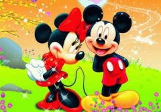 mickey, minnie