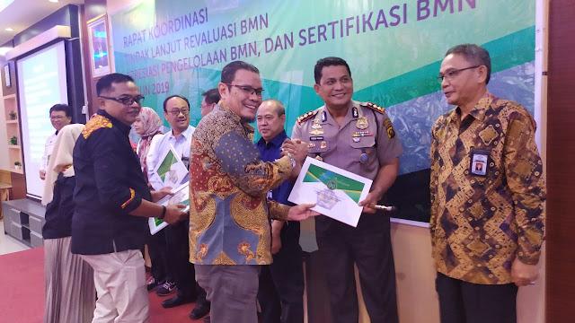 Polres Muba Terima Penghargaan dari KPKNL Palembang