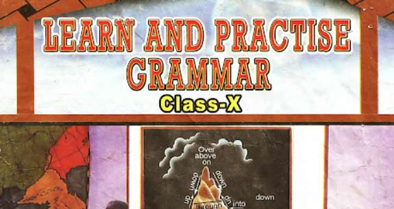 Learn and Practice Grammar Odisha Class X 2018-19 English Grammar Free eBook (PDF)