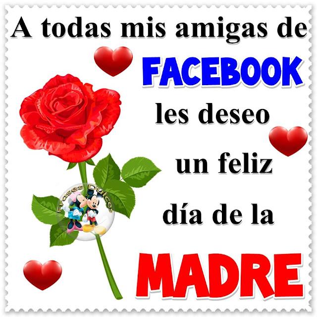 Feliz día de la madre, imagen para las amigas de Facebook