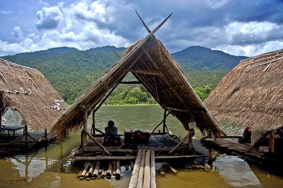 el lago huay tung tao de chiang mai