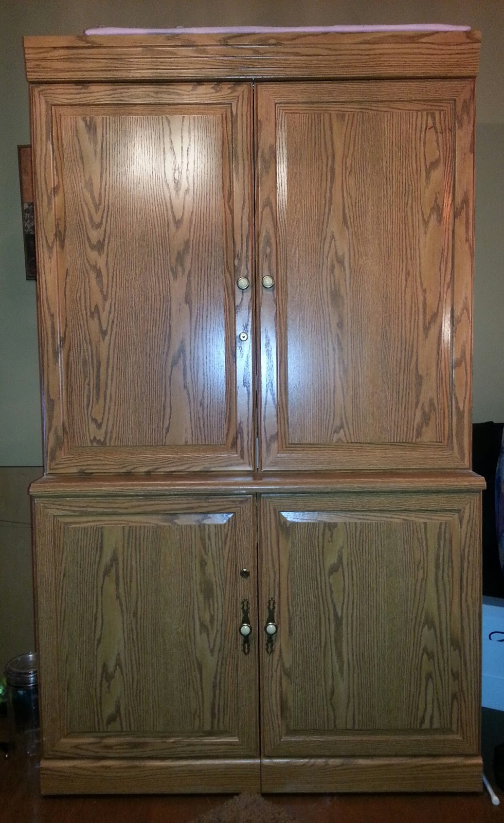For God Sew Loved...: Sewing Armoire???