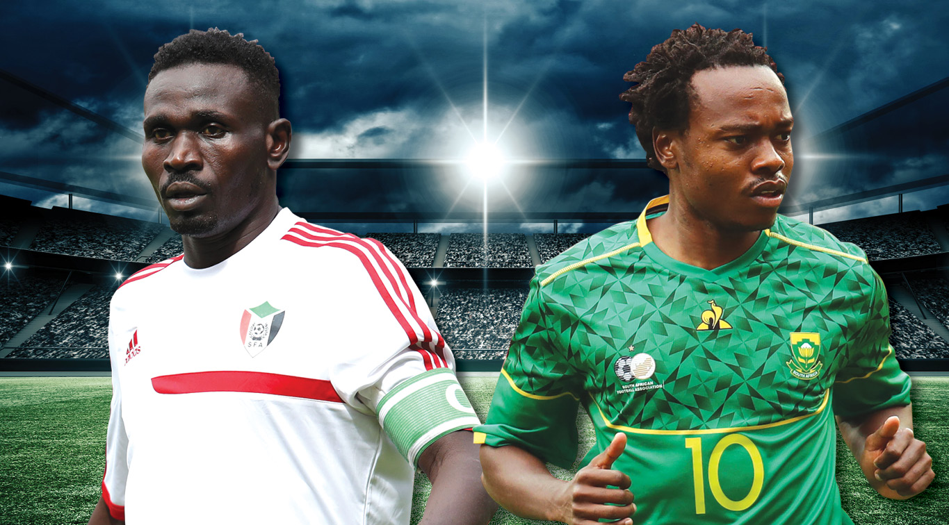 Mohamed Abdel Raman and Percy Tau will look to inspire their nations to victory