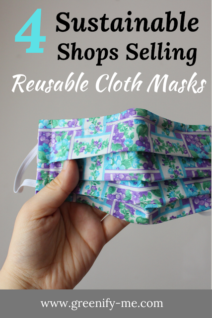 4 Sustainable Shops Selling Reusable Cloth Masks