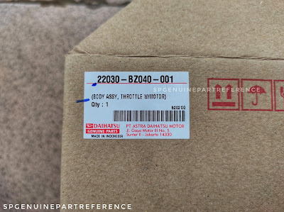 22030-bz040-001 throttle body