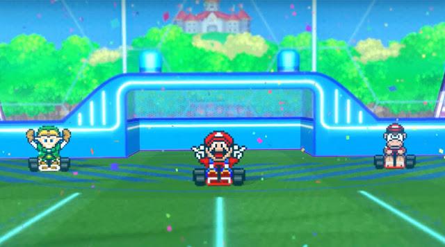 Mario Kart Rocket League