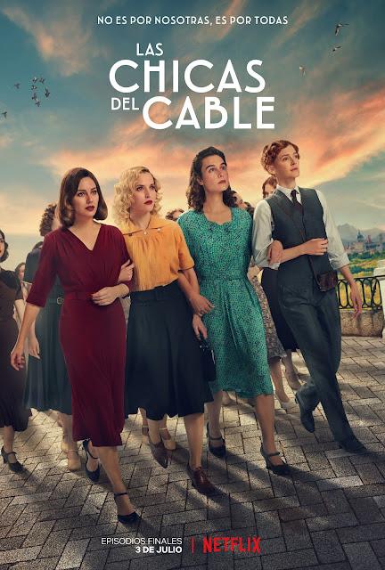 Póster de los episodios finales de Las chicas del cable