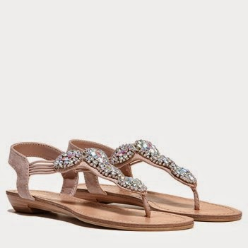 Jeweled Sandals and Wedges Are in Style for Spring  #ad  via www.productreviewmom.com