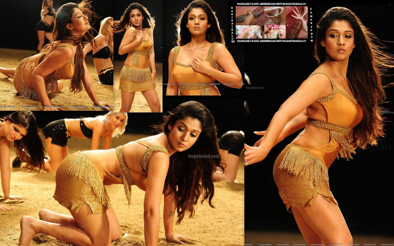 Nayanthara Boob Rare Cleavage And Very Sexy Body Show Hot -8644