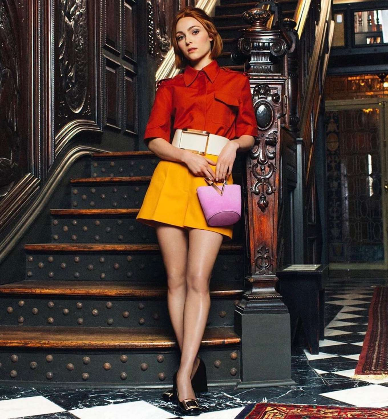 AnnaSophia Robb stars in the Roger Vivier Fall/Winter 2019 Campaign