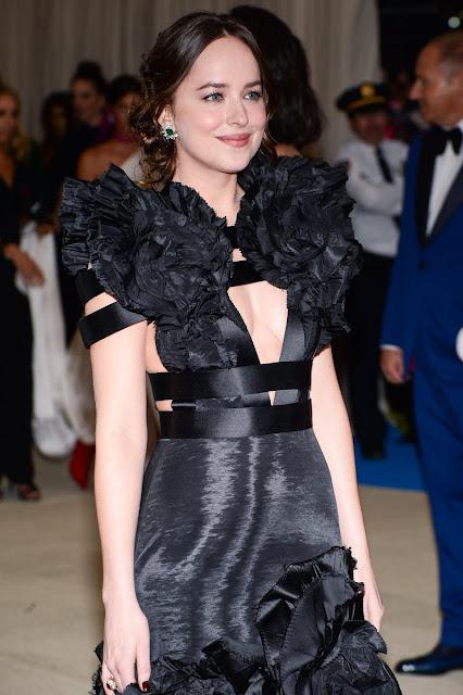 Dakota Johnson at Met Gala 2017