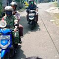 Kelurahan Cibeunying Bersama Unsur TNI - Polri Patroli Himbauan Keliling Lawan Covid 19