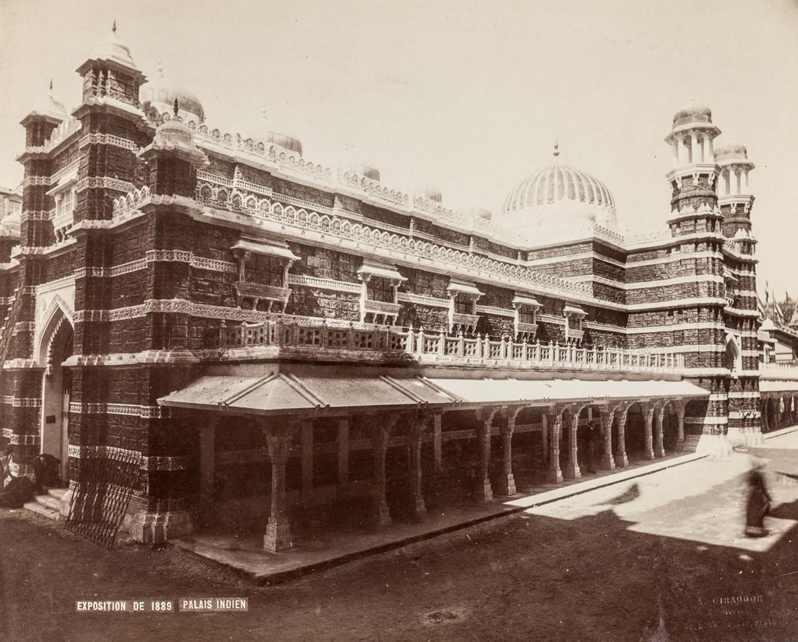 The palace of India.