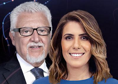Fernando Mitre e Sheila Magalhães comandam o Band Eleições 2020 - Divulgação