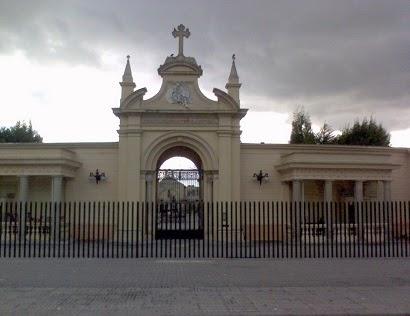 frente de Cementerio Central de Bogotá