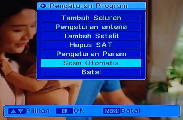 Scan Otomatis Satelit Telkom 4