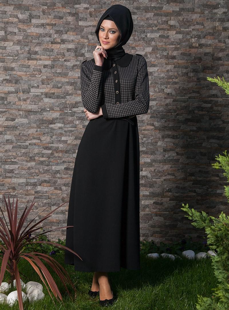 Latest Womens Fashion Clothing Dresses: 2013 Winter Dress Models For Muslim Womens