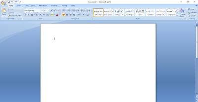 Cara Menyimpan Dokumen di Ms Word- Kursus Komputer YMII Cileungsi