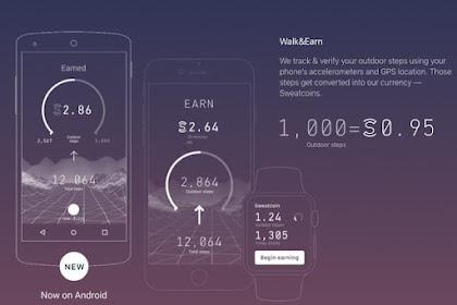 APK Sweatcoin Aplikasi Sehat dan Menghasilkan Uang
