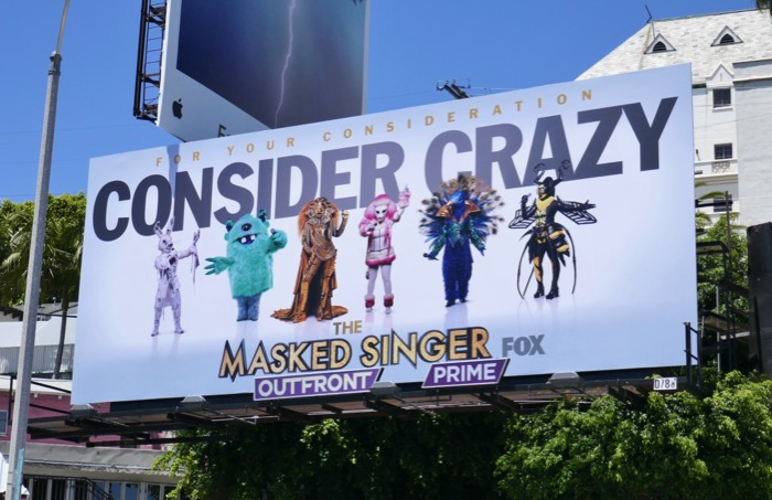 Masked Singer Consider Crazy Emmy 2019 billboard