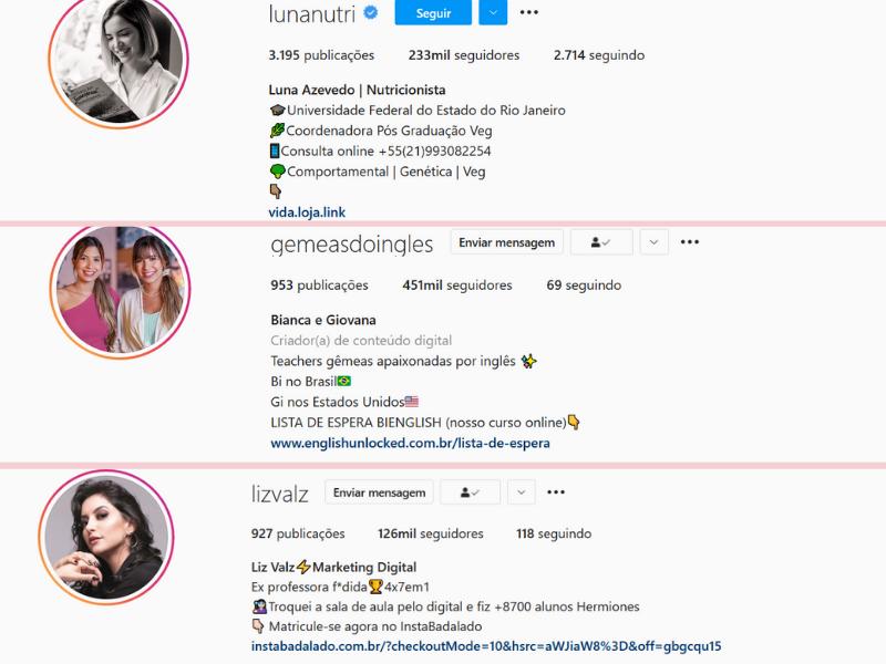 Como fazer uma Biografia perfeita no Instagram + Inspirações