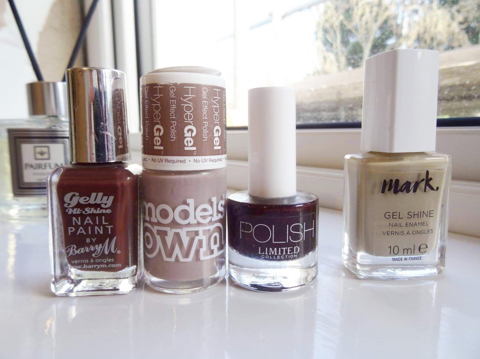 A Huge Nail Polish Declutter Nudes Edition