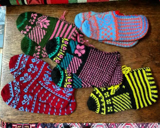 Turkish Slipper Socks