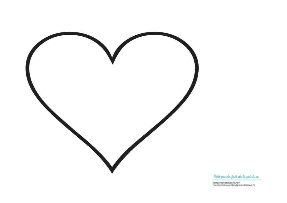 petit panda fait de la peinture cadeau fete des meres en coloriage carte avec un coeur. Black Bedroom Furniture Sets. Home Design Ideas