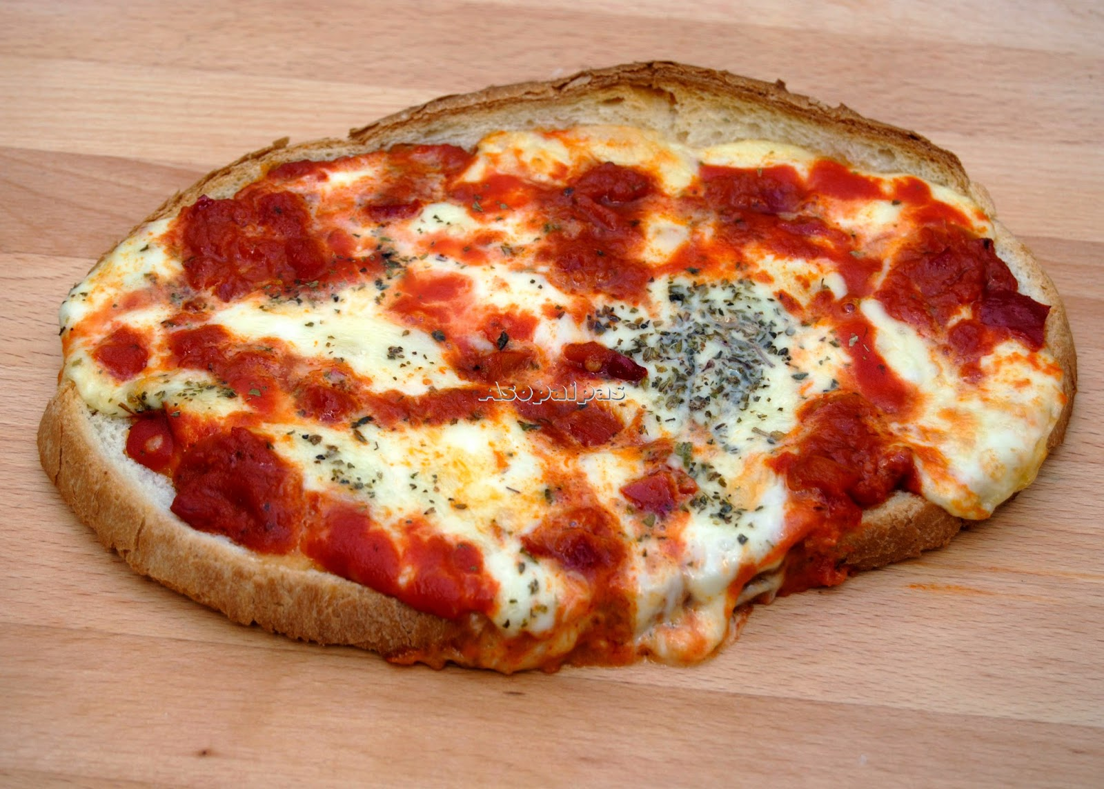 Bruschetta a la Pizzaiola