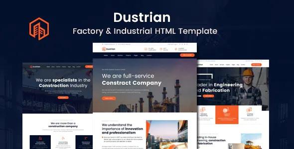 Best Factory & Industrial Template