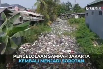 KOMPAS TV Kena Hajar Warganet. Tayangkan Pengelolaan Sampah Jakarta, Tapi Pakai Video Sampah Bekasi