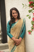 Tejaswi Madivada looks super cute in Saree at V care fund raising event COLORS ~  Exclusive 057.JPG