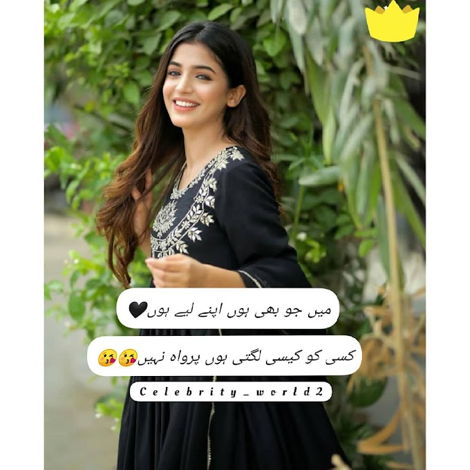 2 Lines Urdu Attitude Love Poetry