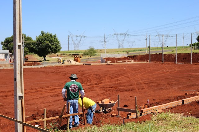 Campos de futebol no Cidade Nova devem ser concluídos no primeiro semestre de 2021