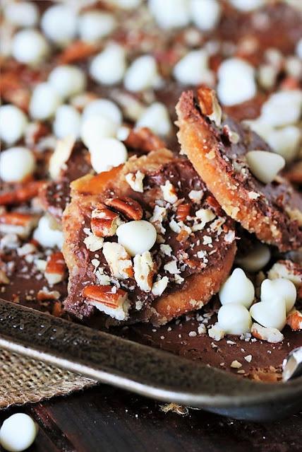 Ritz cracker snack