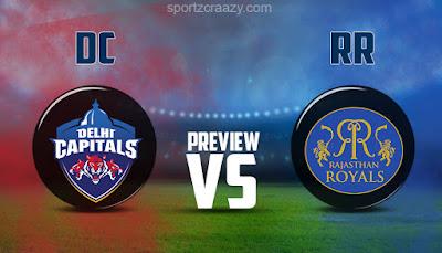 DC vs RR, RR vs DC, IPL 2021, Match 7
