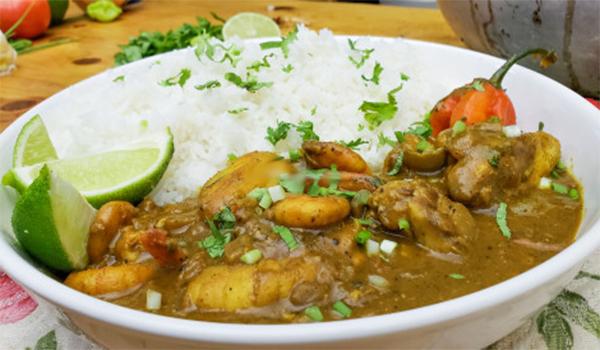 Cuisine, riz, sauce, curry, poisson, lotte, plat, sénégalais, décoration, exotique, repas, LEUKSENEGAL, Dakar, Sénégal, Afrique