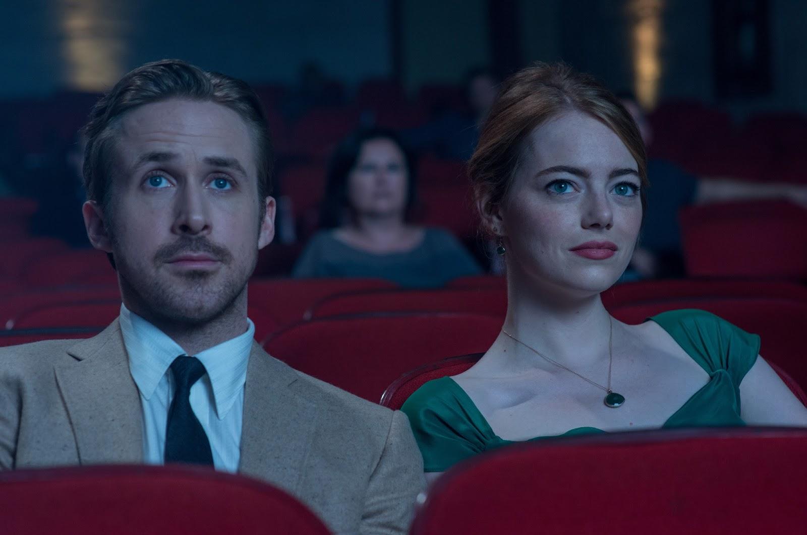 Emma Stone y Ryan Gosling - LaLaLand