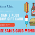 Win a Free Sam's Club Plus Membership or $45 Sam's Club Gift Card! -5 Winners. Limit One Entry Per Person, Ends 5/20/19