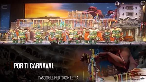 """🔴Pasodoble de Juan Carlos Aragón🔥 no cantado en el Falla """"Por ti carnaval"""". """"Los peregrinos"""" (2017)"""