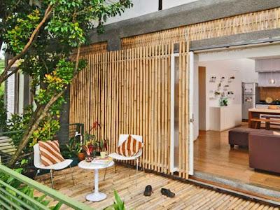 Desain Rumah Bambu Modern Dan Minimalis Khas Pulau Jawa 1
