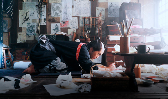 Hokusai film - Hajime Hashimoto