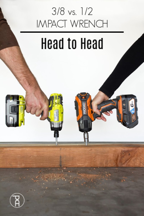tool review Head to head review comparison between a Ryobi 38 inch Impact Driver and a Ridgid OCTANE 12 inch Impact Driver