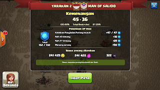 Clan TARAKAN 2 vs MAN OF SALIDO, TARAKAN 2 Win