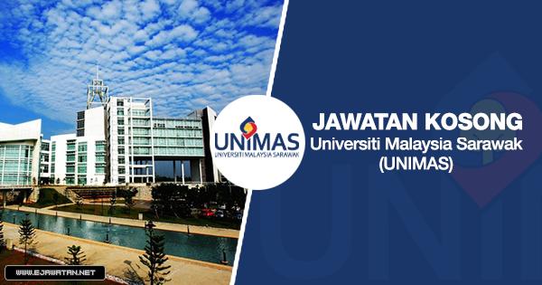 jawatan kosong Universiti Malaysia Sarawak (UNIMAS) 2020