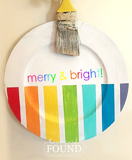 Dollar Tree,Dollar Tree crafts,Dollar Tree hacks,wall art,wreaths,ornaments,Christmas Decor,Christmas,color,colorful home,dollar store crafts,crafting,on the porch,DIY,diy decorating,painting,ornament door hanger,door hanger,re-purposing,plastic charger upcycle.