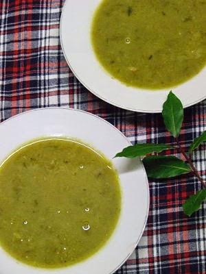 Babington leek soup