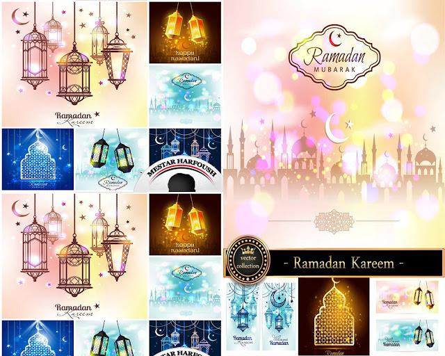 مجموعة الصور والفيكتور الاسلامية الخاصة بشهر رمضان 2015 المجموعة 2