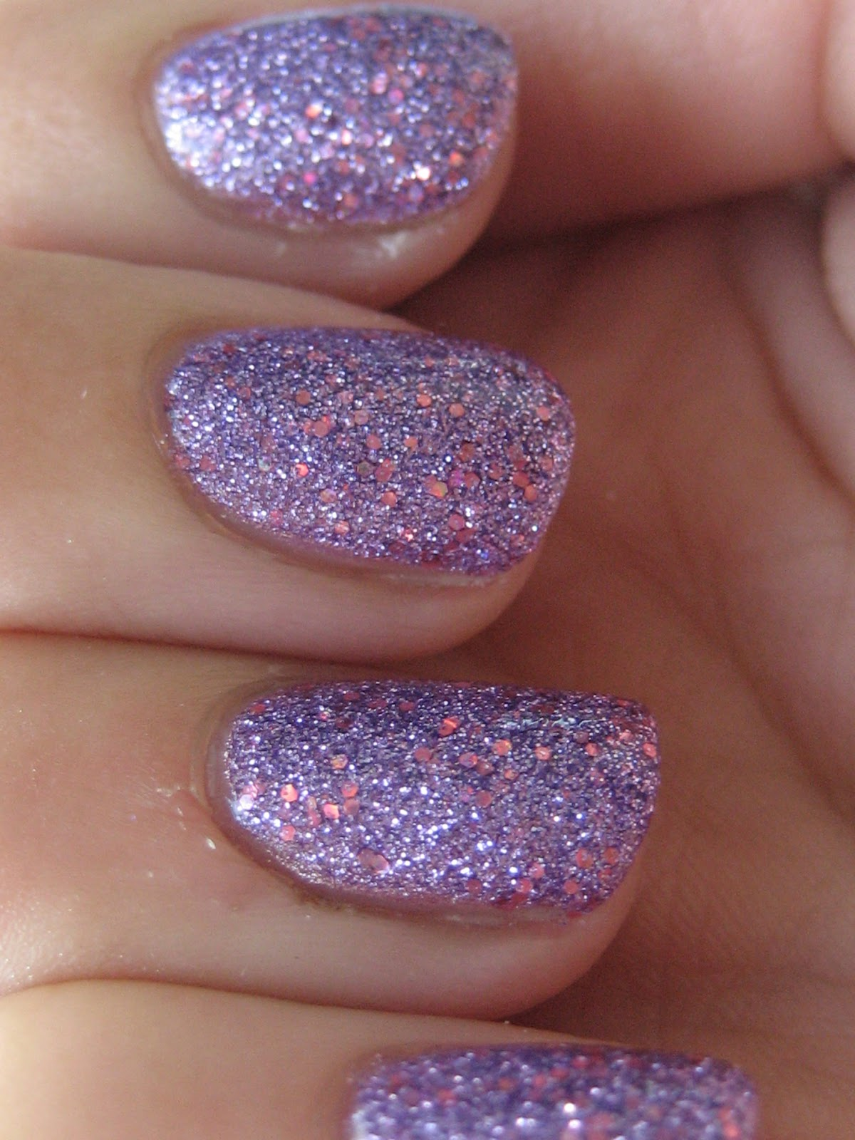 Ombre Glitter Eye Makeup Brushes Set Rose Gold In Make Up: Nail & Polish: Pink Glitter Nails + My Ombre Hair