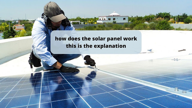 how does the solar panel work